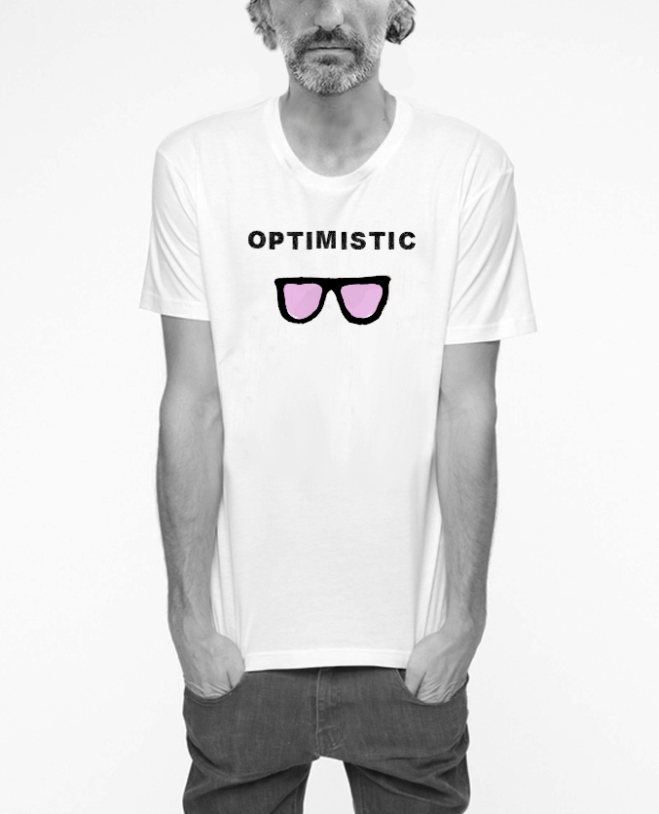 camiseta chico optimistic