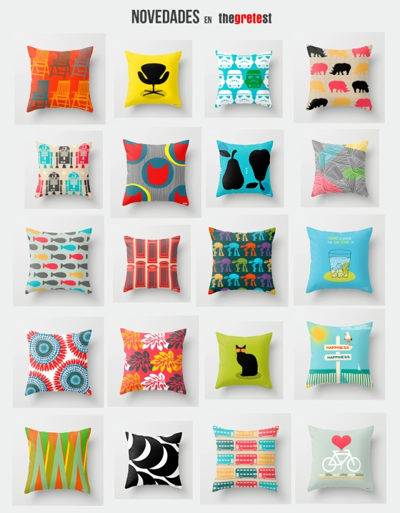 Modern Decorative throw pillows from thegretest