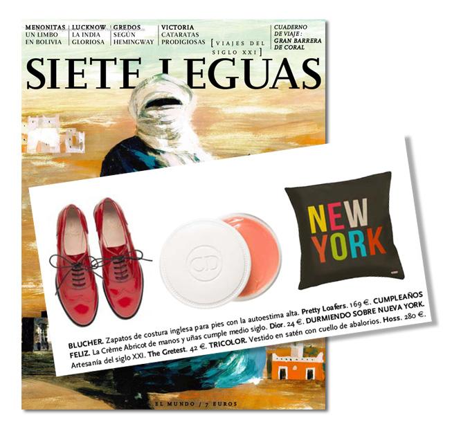 thegretest en la revista Siete Leguas