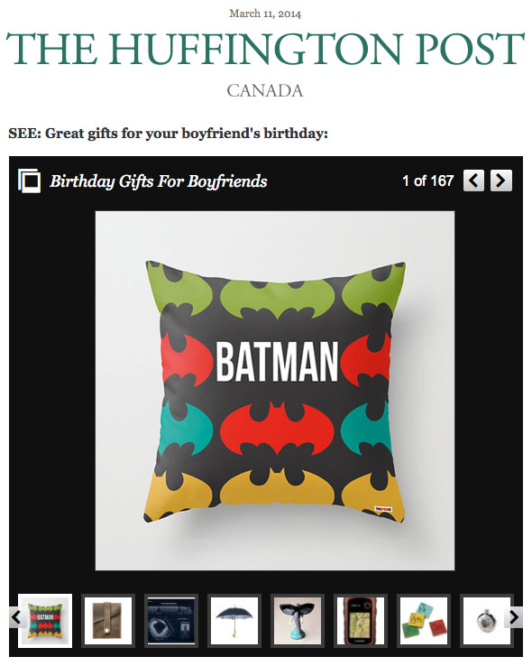 Decorative Pillows, Boyfriend gifts